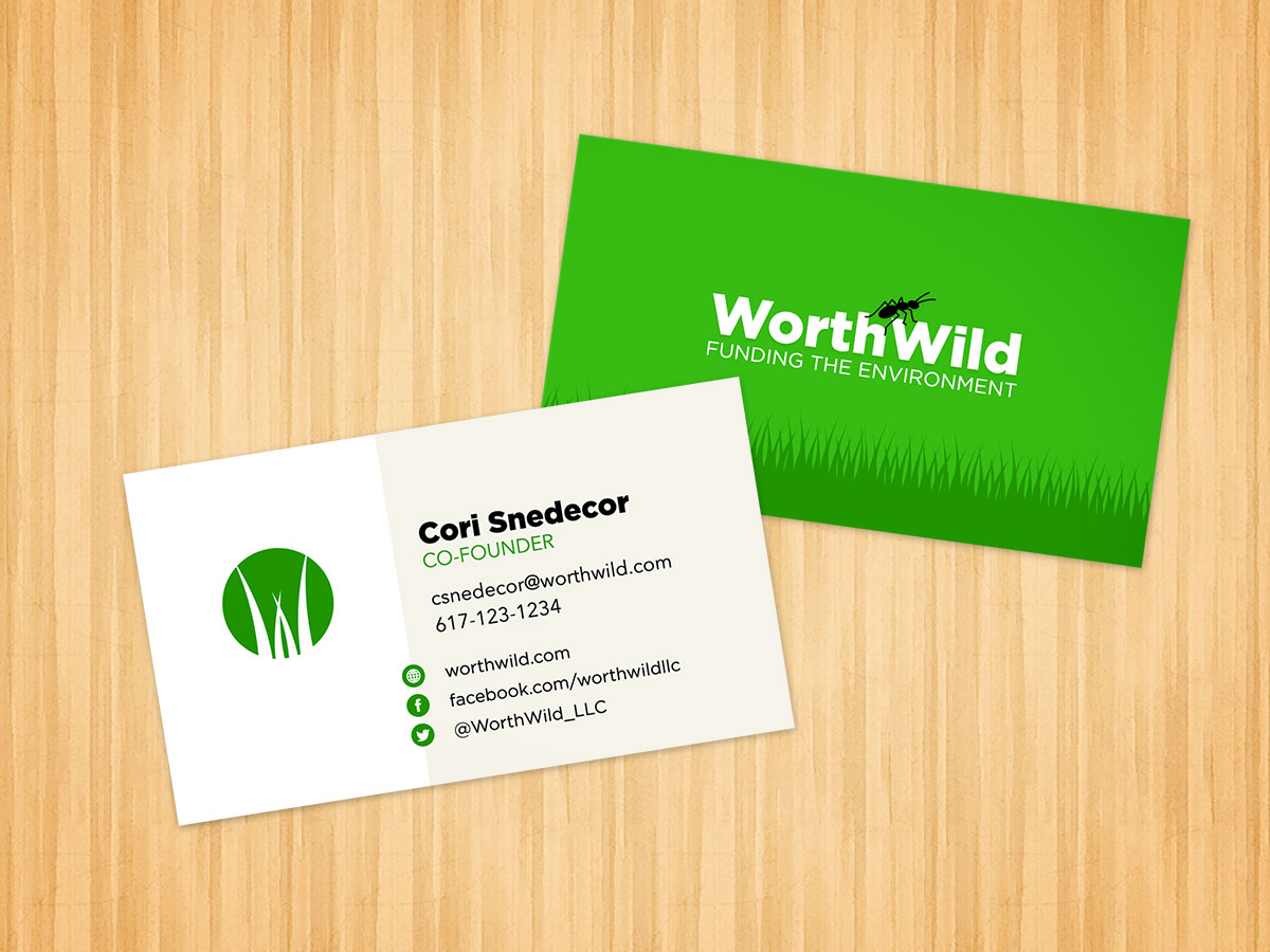 Worthwild portfolio east third creative business card design colourmoves